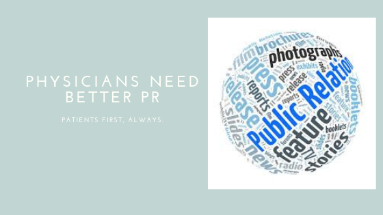 Physicians need better PR