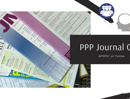 PPP Journal Club: May 14, 2020