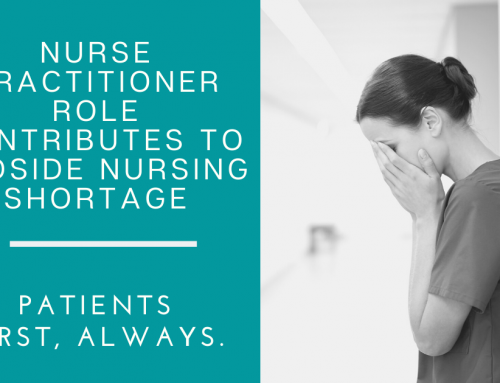 Nurse practitioner role contributes to bedside nursing shortage