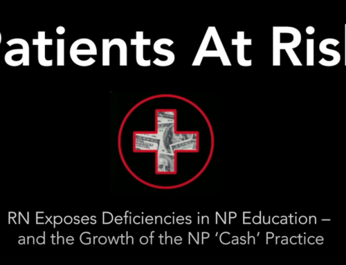 RN and former NP student exposes deficiencies in nurse practitioner education – Video