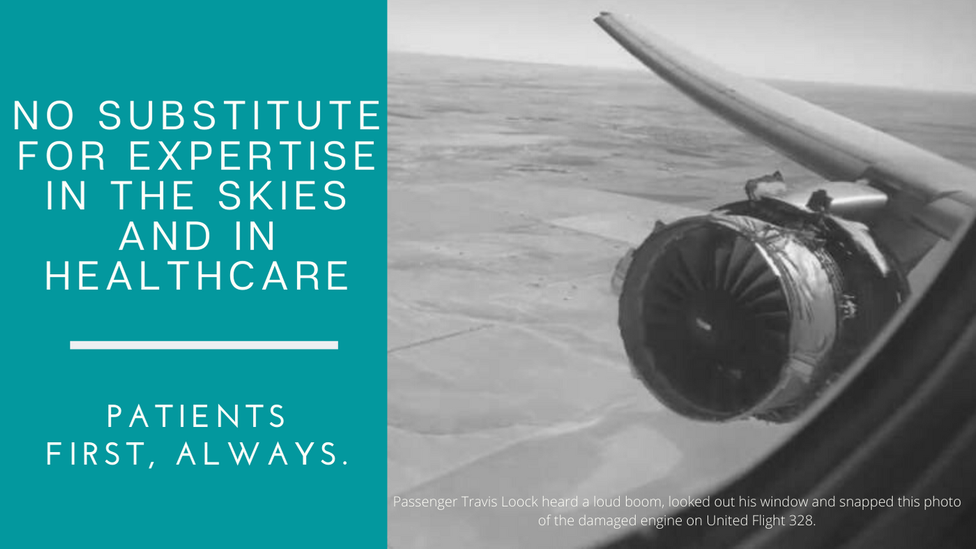 Expertise in the Skies and in Healthcare