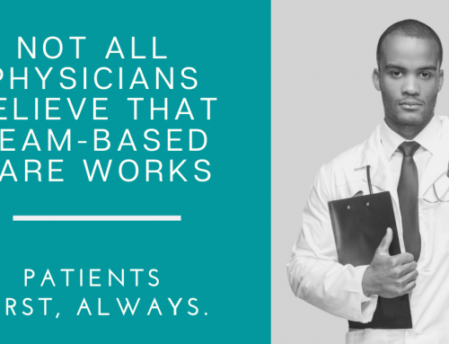 Not all Physicians Believe that Team-Based Care Works
