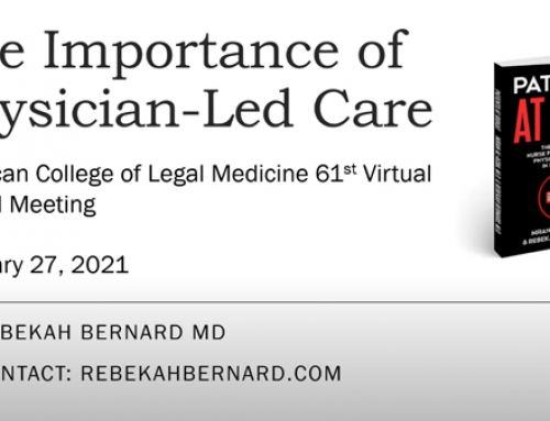 The Importance of Physician Led Care – Video