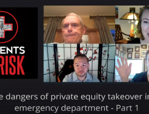 Patients at Risk: Private Equity in the ED Part 1